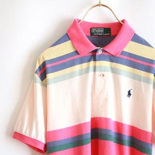 ポロラルフローレン(POLO RALPH LAUREN)の【POLO RALPH LAUREN】マルチカラー ポロシャツ☆(ポロシャツ)