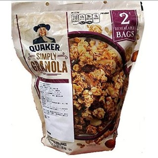 コストコ(コストコ)のquaker  granola  クエーカーグラノーラ シリアル(ダイエット食品)