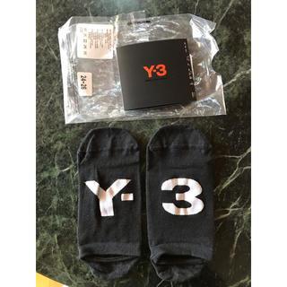 ワイスリー(Y-3)のY-3 INVISOCKS  24〜26cm(ソックス)