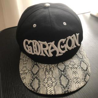 ビッグバン(BIGBANG)のBSX G-DRAGON ジードラゴン CAP キャップ(キャップ)