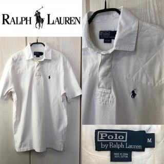 ポロラルフローレン(POLO RALPH LAUREN)の☆早い者勝ち!ポロラルフローレン オフホワイト ラガーシャツ(ポロシャツ)