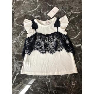anyFAM - anyFam レースキャミ付きTシャツ 110 100