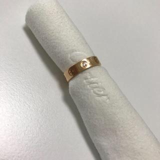 カルティエ(Cartier)のCartier ラブリング pg  ☆正規品☆(リング(指輪))