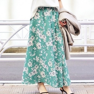 IENA - Deveaux フラワープリントスカート