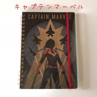 マーベル(MARVEL)の《新品未使用》MARVEL キャプテンマーベル リング ノート(ノート/メモ帳/ふせん)