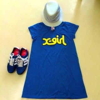 エックスガール(X-girl)のxgirl ロングTシャツ(Tシャツ(半袖/袖なし))