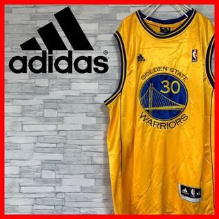 アディダス(adidas)の★激レア★ adidas NBA WARRIORS ゲームシャツ ウォーリアーズ(バスケットボール)