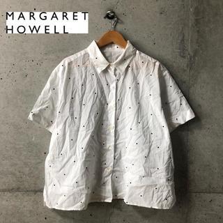 MARGARET HOWELL - 【MARGARET HOWELL】ドット柄 オーバーサイズシャツ 2