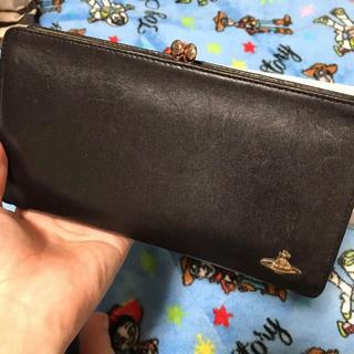 Vivienne Westwood - ヴィヴィアンウエストウッド 黒がま口財布