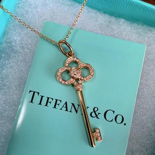 Tiffany & Co. - 【ティファニー】クラウンキーネックレス
