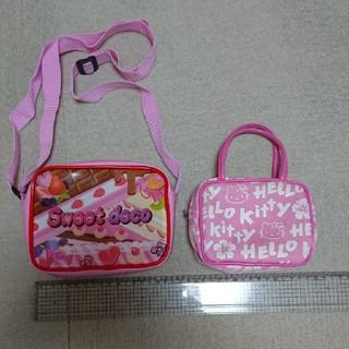 ハローキティ(ハローキティ)のかばん  2ヶセット(ポシェット)