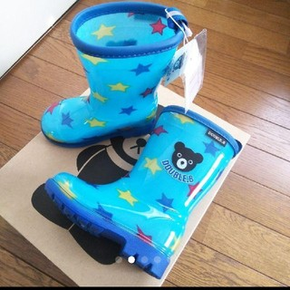 ダブルビー(DOUBLE.B)の新品SALE!DOUBLE.B ダブルb 長靴13センチ(長靴/レインシューズ)