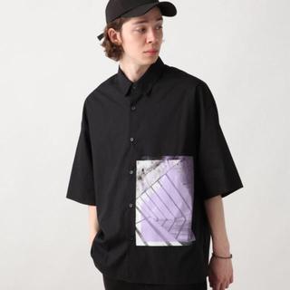 HARE - HARE フォトプリントビッグシャツ