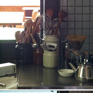 イッタラ(iittala)のSCOPE スコープ キッチンツールキャニスター 170mm ブラウン(収納/キッチン雑貨)