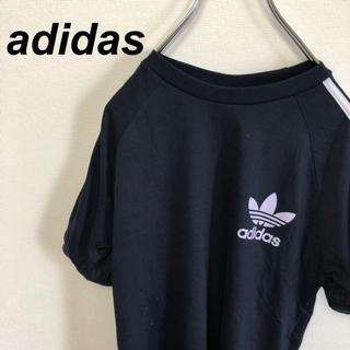 アディダス(adidas)の90s adidas アディダス Tシャツ ネイビー 紺(Tシャツ/カットソー(半袖/袖なし))