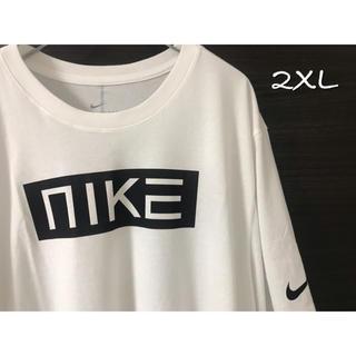 ナイキ(NIKE)のNIKE ナイキ Tシャツ 2XL 白 新品 ボックス(Tシャツ/カットソー(半袖/袖なし))