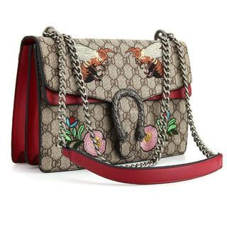 Leole(レオーレ) ショルダーバッグ レトロ 刺繍 ハンドバッグ (ショルダーバッグ)