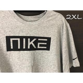 ナイキ(NIKE)のNIKE ナイキ Tシャツ 2XL 灰色 新品 ボックス(Tシャツ/カットソー(半袖/袖なし))