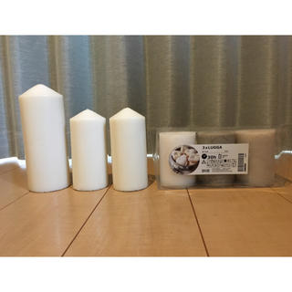 イケア(IKEA)のIKEAキャンドル&キャンドル皿(その他)