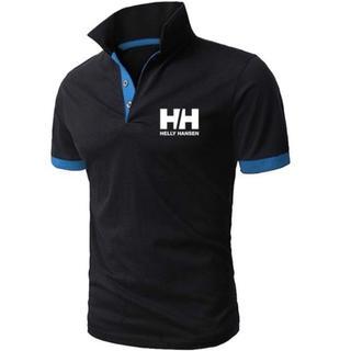 ヘリーハンセン(HELLY HANSEN)のポロシャツ   ヘリーハンセン  XXLサイズ ブラック(ポロシャツ)