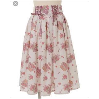 リズリサ(LIZ LISA)のリズリサ グレープローズスカート(ロングスカート)