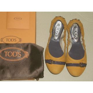 トッズ(TOD'S)のTOD'S トッズ フラットシューズ 351/2 バレエ ドライビング(バレエシューズ)