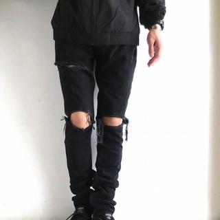 mint crew rockstar skinny  (black/28)(デニム/ジーンズ)