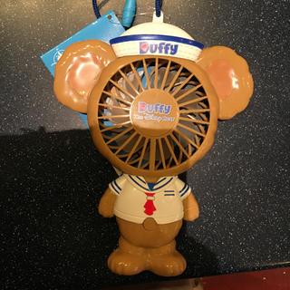 香港 ディズニー ダッフィー 扇風機 ストラップ サニーファン