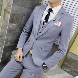 無地 スーツメンズ スーツジャケット 紳士 セットアップ 着痩せ zb312 (セットアップ)