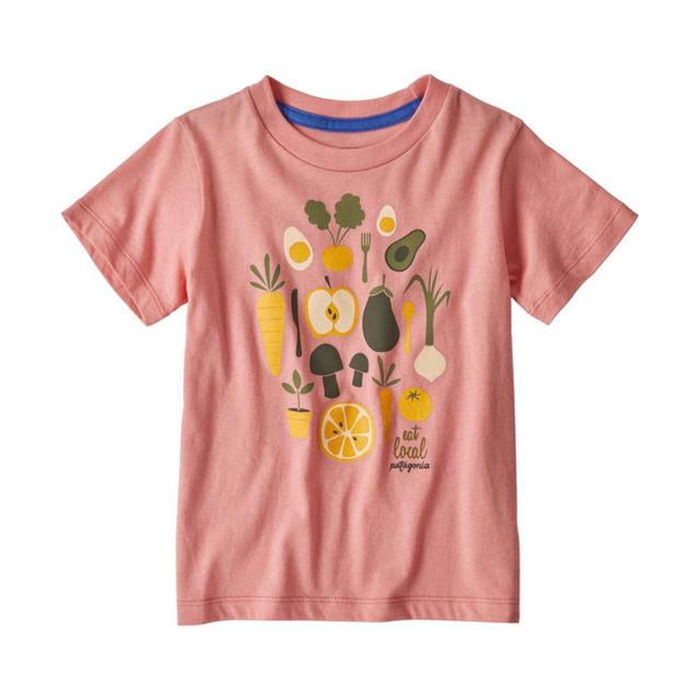patagonia(パタゴニア)のパタゴニア ベビー・グラフィック・オーガニック・Tシャツ キッズ/ベビー/マタニティのキッズ服 女の子用(90cm~)(Tシャツ/カットソー)の商品写真