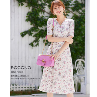 tocco - 最終値引き☆tocco closet フラワープリントワンピース