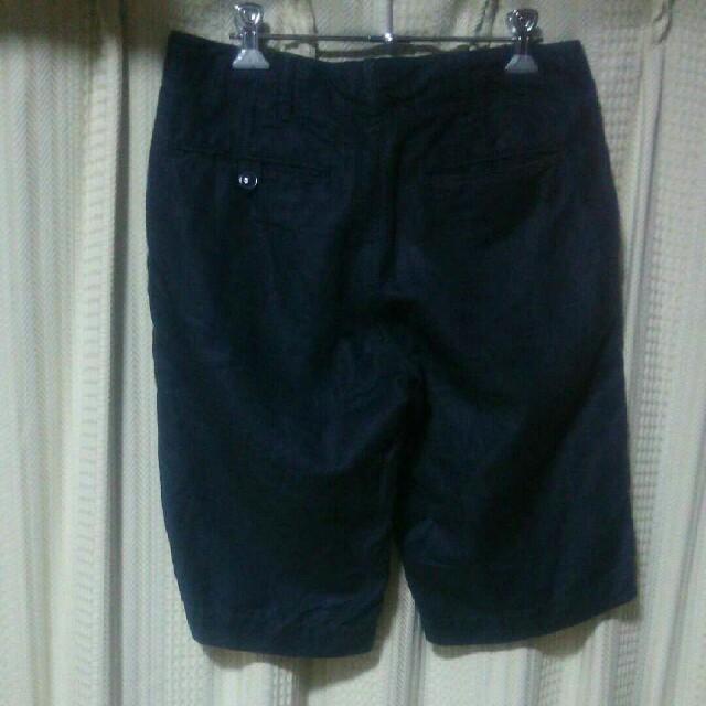 BEAUTY&YOUTH UNITED ARROWS(ビューティアンドユースユナイテッドアローズ)のBEAUTY&YOUTH ハーフパンツ Sサイズ ショートパンツ ショーツ 古着 メンズのパンツ(ショートパンツ)の商品写真
