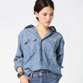 マディソンブルー(MADISONBLUE)のマディソンブルー  シャンブレーシャツ デニムシャツ 美品(シャツ/ブラウス(長袖/七分))
