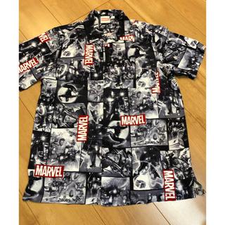 マーベル(MARVEL)のMARVEL 前開きシャツ Lサイズ(Tシャツ/カットソー(半袖/袖なし))