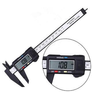 【 送料無料 】軽量 デジタルノギス 厚み 内径 計測 定規 メジャー スケール