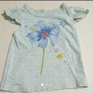 西松屋 - かすれプリント Tシャツ 80cm