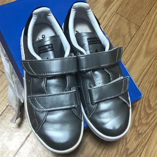 adidas - アディダス スニーカー FAST シルバー 23cm