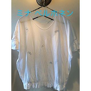 ミナペルホネン(mina perhonen)の新品未使用 ミナペルホネン トップス(Tシャツ(半袖/袖なし))