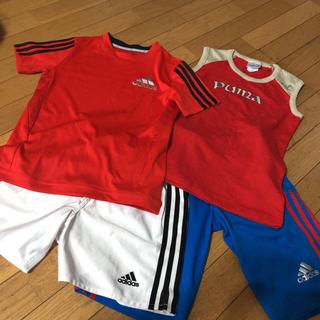 アディダス(adidas)のサッカー ウェア 4点 セット まとめ売り フットサル(ウェア)