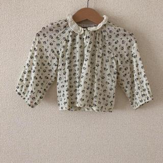 キャラメルベビー&チャイルド(Caramel baby&child )のcaramel hydramgea baby blouse 90(ブラウス)