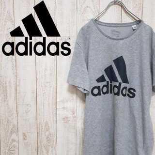 アディダス(adidas)の【01-4】アディダス 半袖Tシャツ サンプル品 ビッグロゴ ゆるダボ(Tシャツ/カットソー(半袖/袖なし))