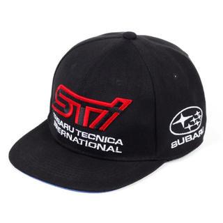 スバル - 【新品】SUBARU スバル STIロゴ レーシングキャップ 色:ブラック