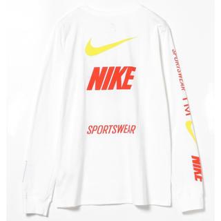 ナイキ(NIKE)のNIKE ナイキ NSW Tシャツ ロンT ホワイト US Sサイズ(Tシャツ/カットソー(七分/長袖))