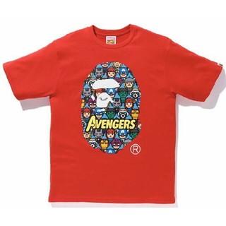 マーベル(MARVEL)のBAPE MARVEL AVENGERS TEE(Tシャツ/カットソー(半袖/袖なし))