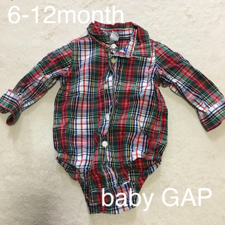babyGAP - シャツロンパース  babyGAP 6-12month