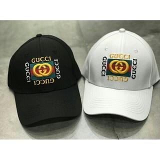 グッチ(Gucci)のGucci ロゴ刺繍 2色 男女兼用キャップ(キャップ)