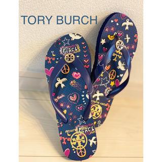 Tory Burch - TORY BURCH トリーバーチ バード ビーチサンダル 24cm