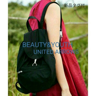 BEAUTY&YOUTH UNITED ARROWS - 今季新品タグ付★『BEAUTY&YOUTH』リュック◆定価¥4968