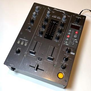 【美品】Pioneer パイオニア DJM-400 DJM400 ミキサー ①