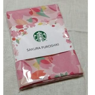 スターバックスコーヒー(Starbucks Coffee)のスターバックス SAKURA2018FUROSHIKI(バンダナ/スカーフ)